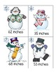 Snowman Measuring/ Tens and Ones