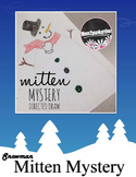 Free Directed Draw Snowman for The Missing Mitten Mystery