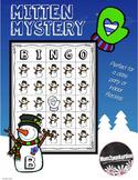 Bingo Game Winter Snowman Mitten Mystery