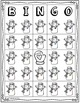 Bingo Game Winter Snowman Mitten Mystery