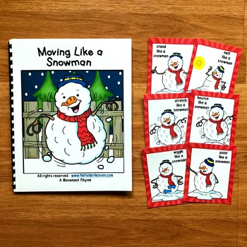 Snowman Movement Cards (And Book!)