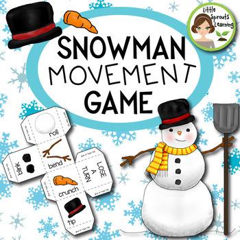 Snowman Movement Game