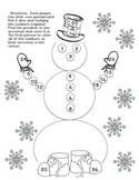 Snowman Multiplication Games