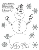 Snowman Multiplication Games