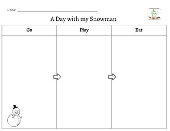 Snowman Narrative Writing