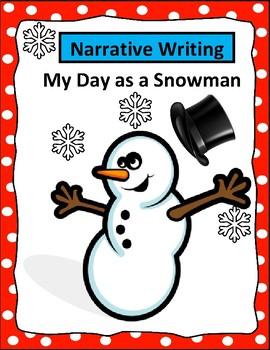 Snowman - Narrative Writing