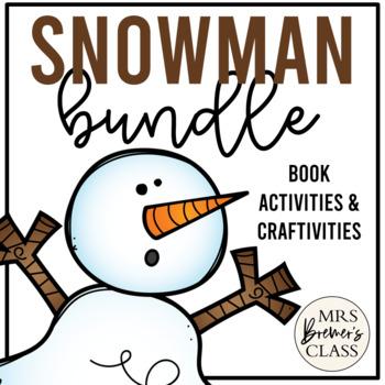 Snowman Novel Study Bundle