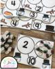 Snowman Number Bond Task Cards 1-10 Center