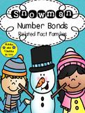 Snowman Number Bonds Fact Families