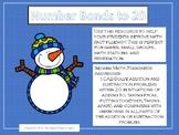Snowman Number Bonds to 20