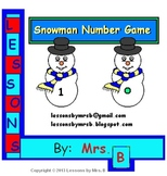 Snowman Number Game