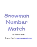Snowman Number Match and Missing Number