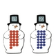 Snowman Number Matching