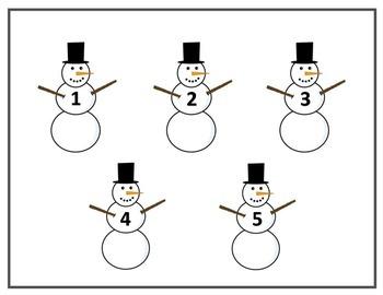 Snowman Number Matching
