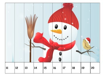 Snowman Number Puzzles