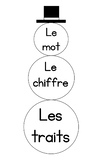 Snowman Number Sense (in French)