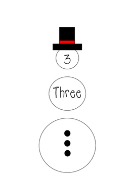 Snowman Number puzzle