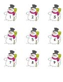 Snowman Numbers (1-20)
