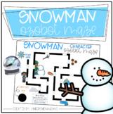 Ozobot Snowman Maze