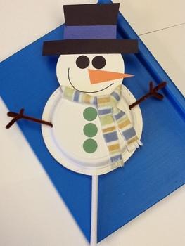 Snowman PUPPETS!