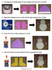 Snowman Paper Plate - Visual Directions – Art Project