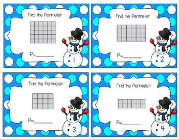 Perimeter Task Cards/scoot
