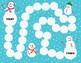 Snowman Phonics Fun Long u