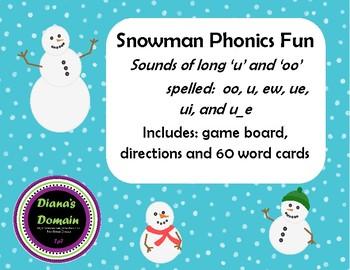 Snowman Phonics Fun
