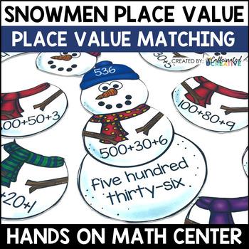Snowman Place Value Center