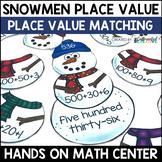 Place Value Center: Place Value Snowmen