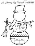 Snowman Place Value Charts
