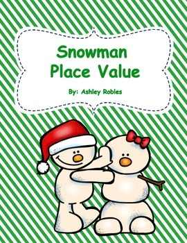 Snowman Place Value Puzzles