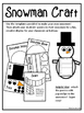 Snowman Poetry and Craftivity - Grades 4-6