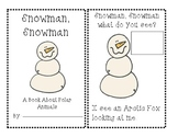 Snowman Polar animals book