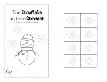 Snowman Positional Word Book