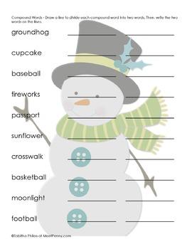 Snowman Printable Pack