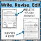 Snowman RAFT Winter Creative Writing Activity