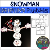Snowman Retelling Printables