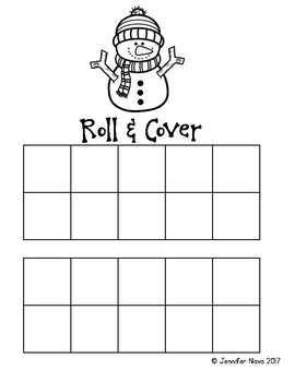 Snowman Roll & Cover