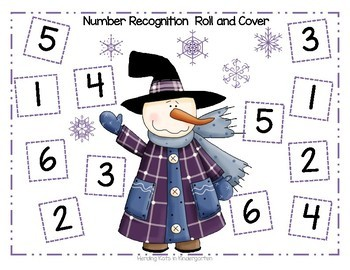 Snowman Math:  Addition & Subtraction Games!