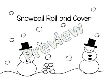 Snowman Roll and Cover