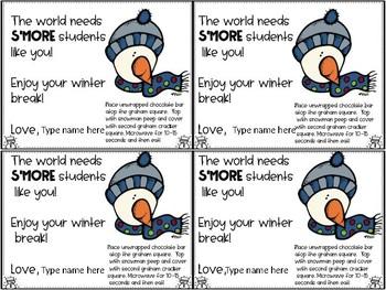 Snowman SMores