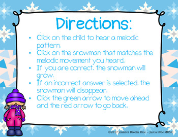 Snowman SSLR - An interactive game for Step, Skip, Leap & Repeat
