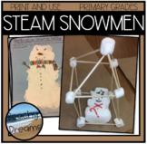 Snowman STEM Activity (Plus S.S., LA, Art & More) for Prim