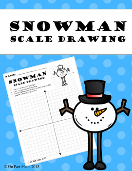 Snowman Scale Drawing