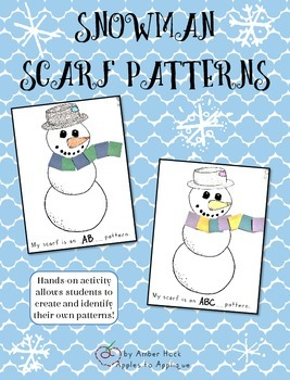 Snowman Scarf Pattern Activity