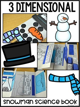 Snowman Science States of Matter Interactive Activities