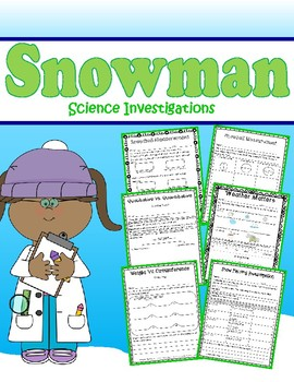 Snowman Science Investigation