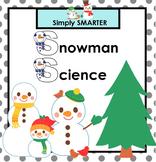 Snowman Science SMARTBOARD