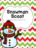 Snowman Scoot {FREEBIE}
